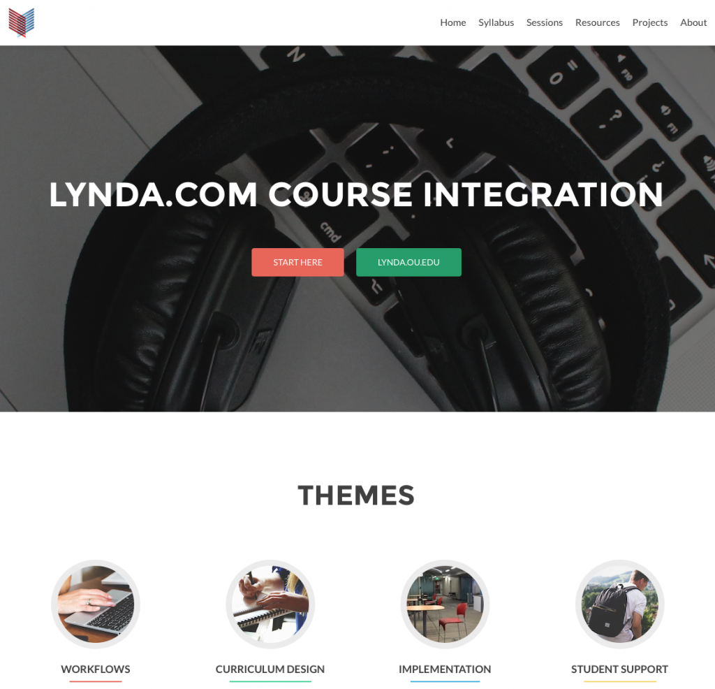 Lynda.com FLC Website