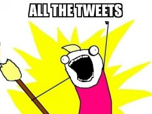 all the tweets